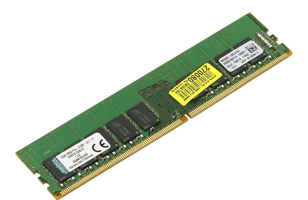 Bộ nhớ DDR4 Kingston ECC 16GB (2133) CL15 (KVR21E15D8/16)