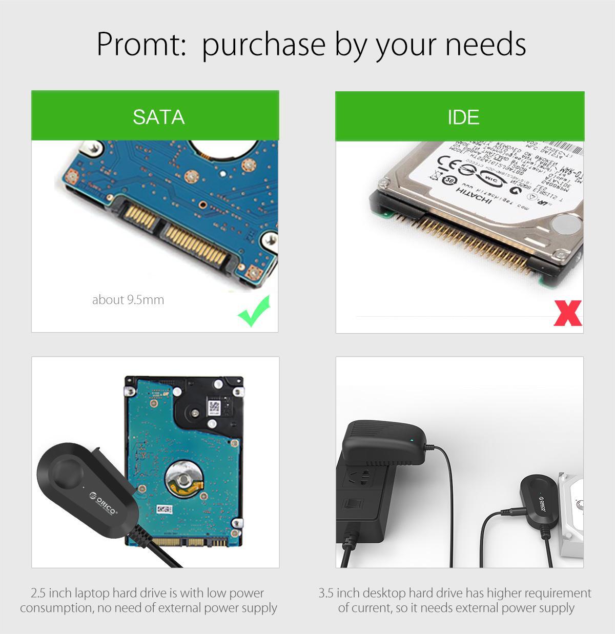 Đầu đọc ổ cứng Orico 35UTS Sata 3 USB (3.0)