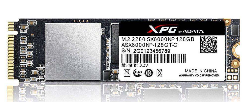 Ổ cứng SSD Adata XPG SX6000 128GB M.2 NVMe (ASX6000NP-128GT-C)