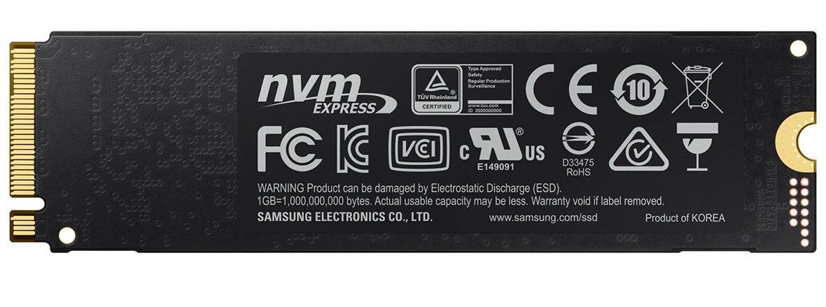 Ổ cứng SSD Samsung 970 EVO 250GB NVMe M.2 (Mz-V7E250BW)