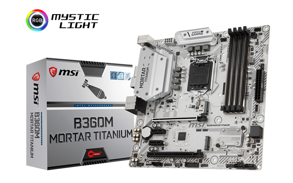 Mainboard Msi B360M Mortar Titanium
