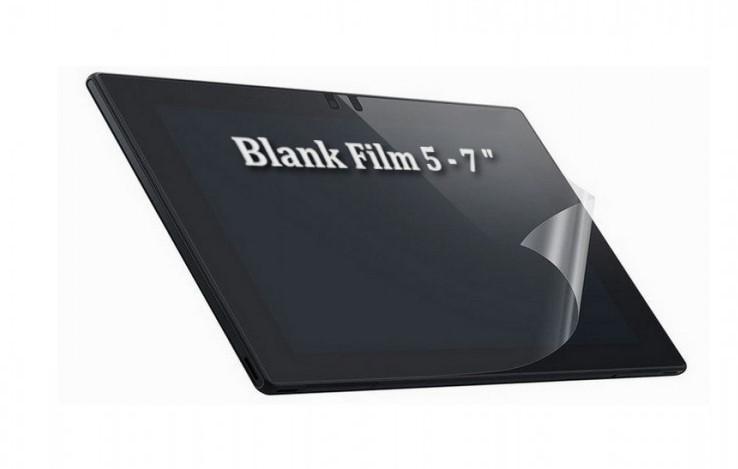 Miếng dán Blank Film trong (5.0-7.0'')