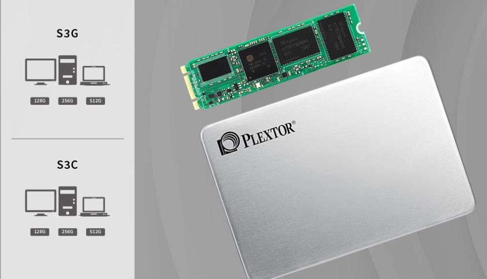 SSD Plextor 256GB PX-256S3G (M2-2280)