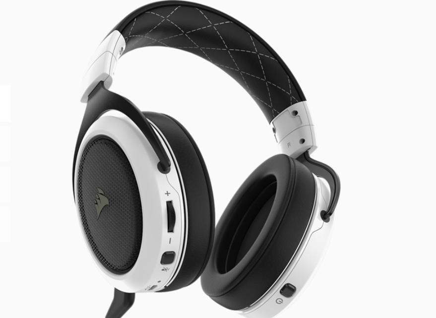 Tai nghe Corsair HS70 Wireless White
