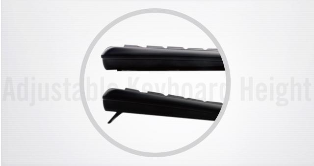 Phím bấm in bằng laser làm cho chữ cái hoặc ký tự luôn mới ngay cả sau khi sử dụng lâu dài.