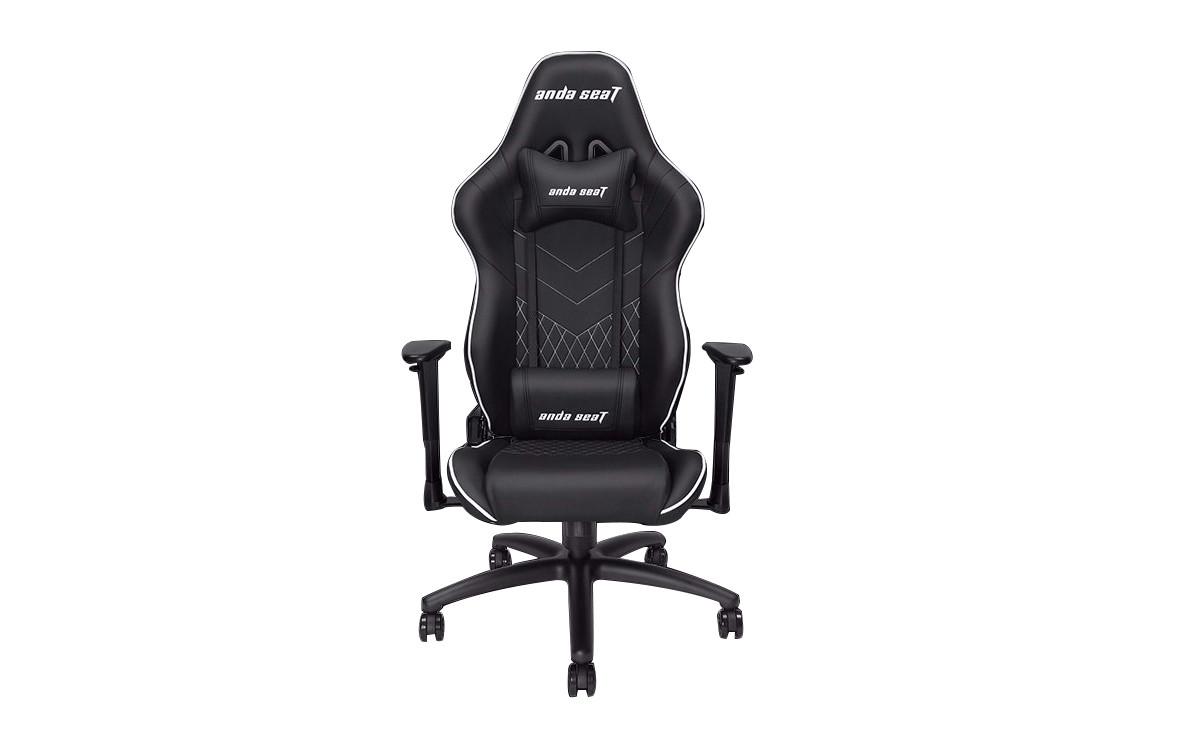Ghế Anda Seat Assassin V2 - Full PVC Leather 4D Armrest Gaming Chair (Black)