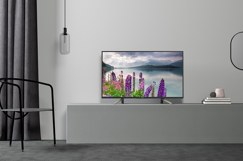 Android Tivi Sony 49 inch KDL-49W800F bố cục