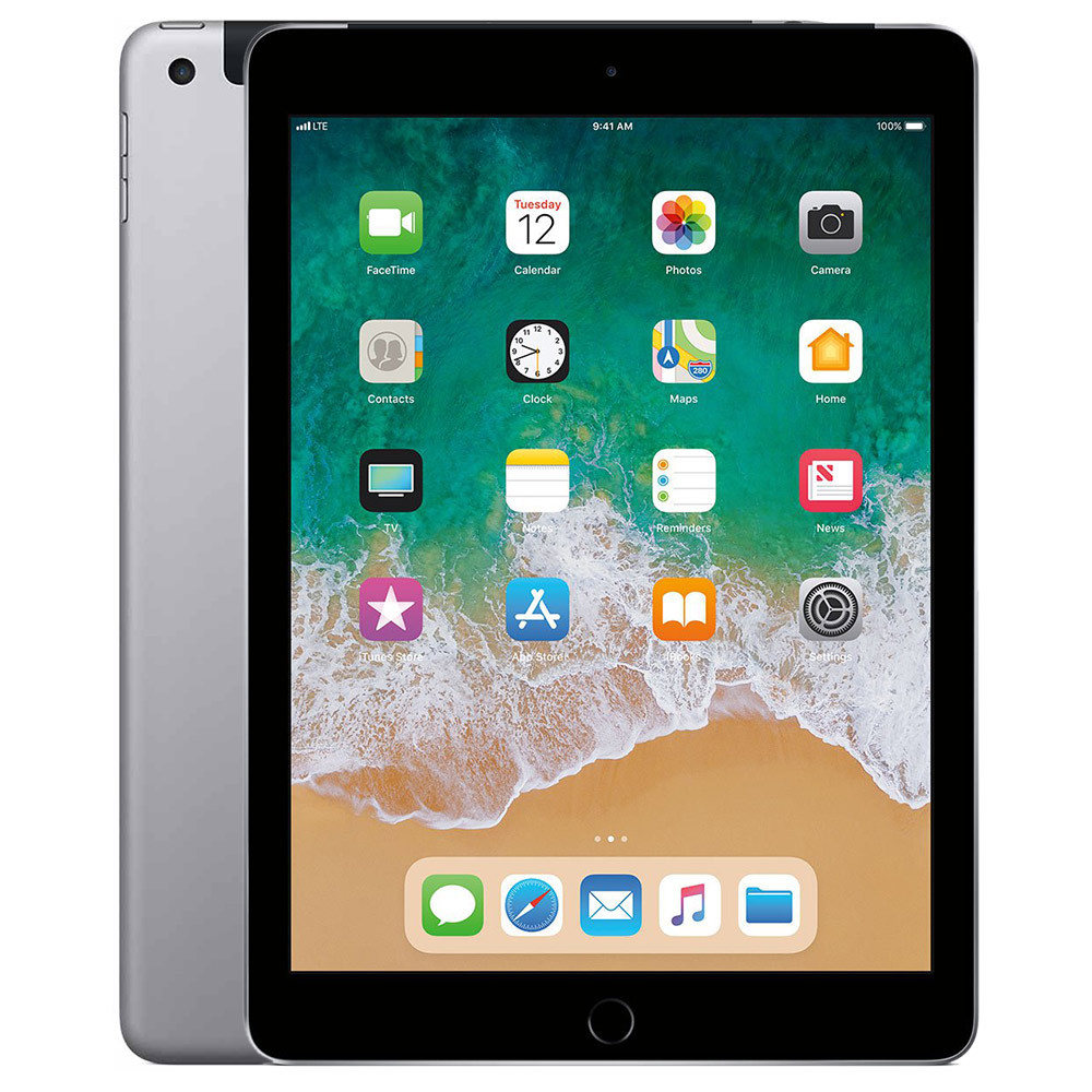 Apple iPad 2018 Wifi Cellular 32GB-MR6N2 (Space Grey)