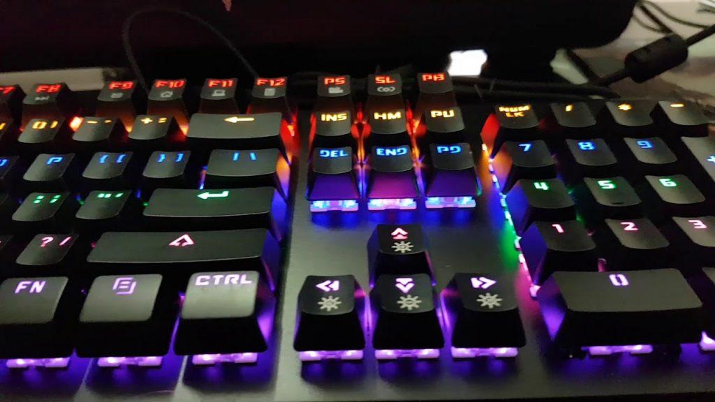 Bàn phím cơ Newmen GM368 Mix Led bàn phím