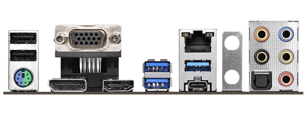 Bo mạch chính/ Mainboard Asrock B360 Gaming K4