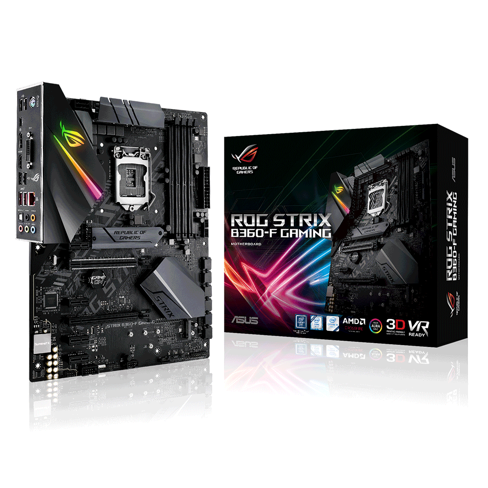 Bo mạch chính/ Mainboard Asus Rog Strix B360-F Gaming