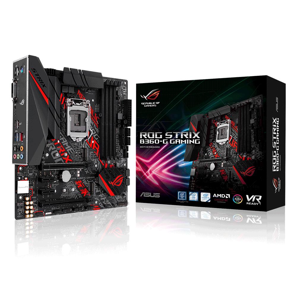 Bo mạch chính/ Mainboard Asus Rog Strix B360-G Gaming