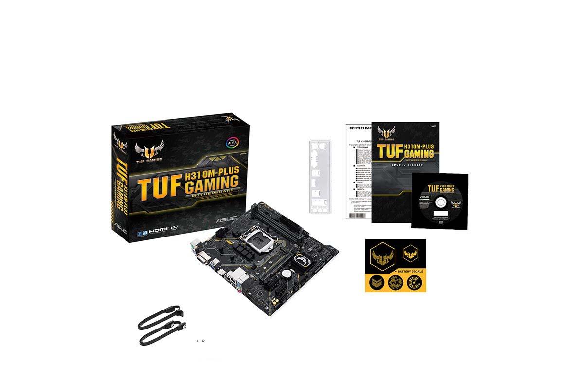 Bo mạch chính- Mainboard Asus TUF H310M-Plus Gaming 2 7