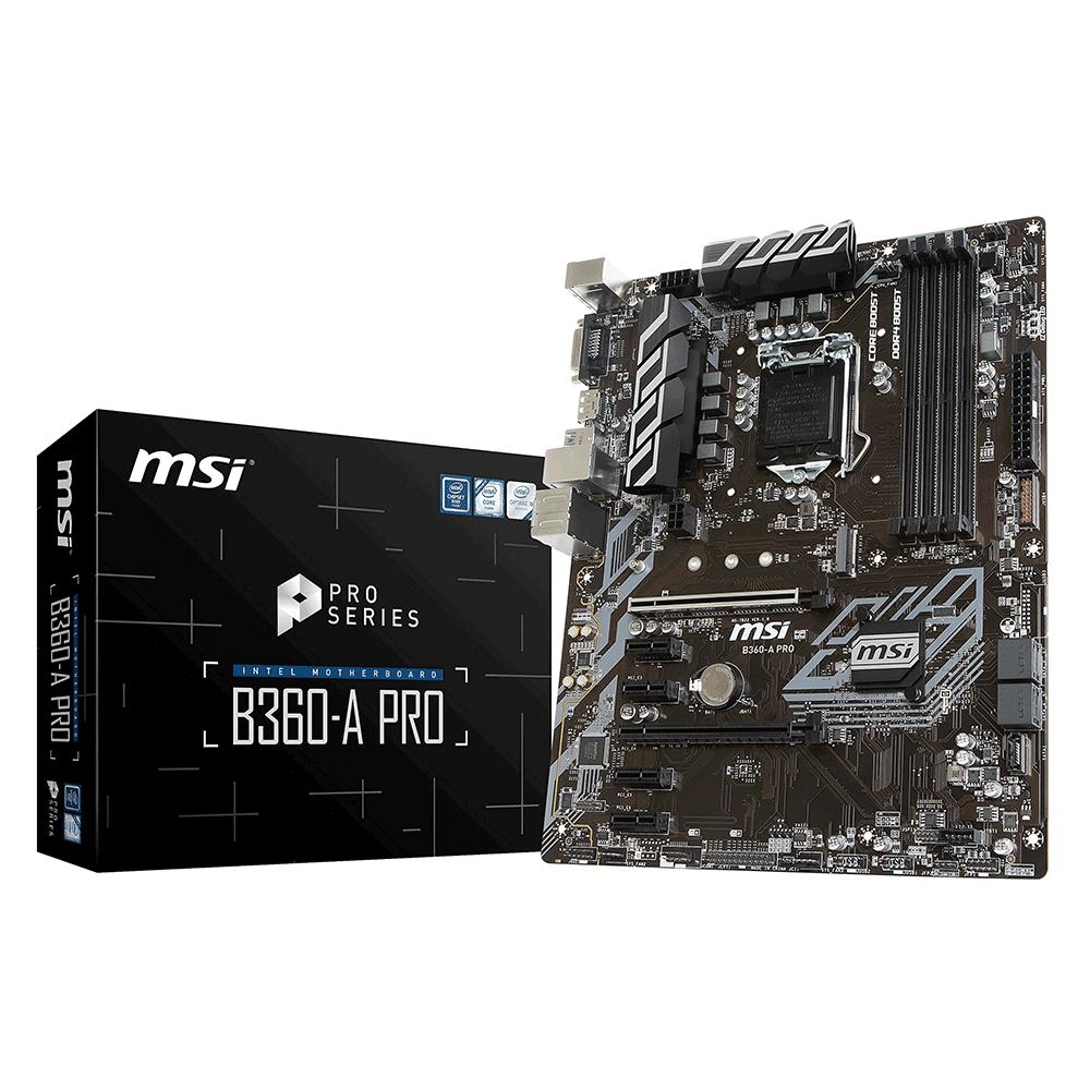 Bo mạch chính/ Mainboard Msi B360-A Pro