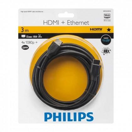 Cáp HDMI Philips SWV2433W (3m)