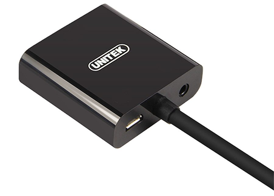 Cáp HDMI - VGA + Audio Unitek (Y6333)