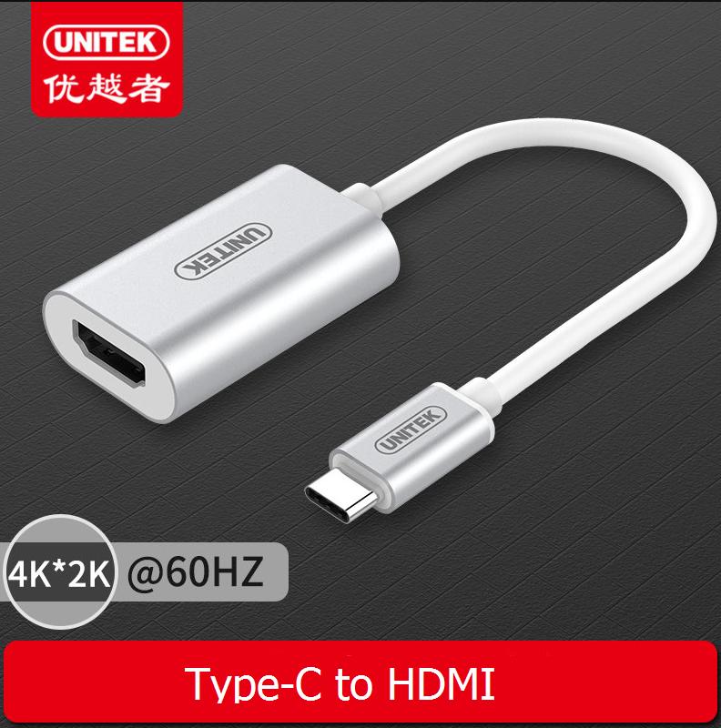 Cáp Type C-HDMI Unitek Y6316