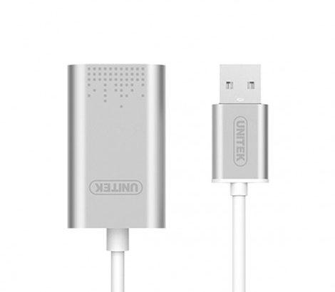 Cáp chuyển USB- Sound Unitek Y247A