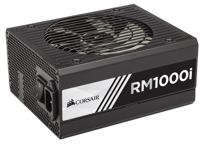 Nguồn/ Power Corsair RM1000i - 80 Plus Gold - Corsair Link - Full Modul