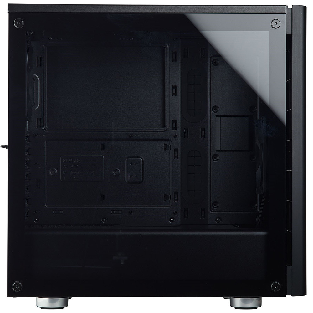 Thùng máy / Case Corsair 275R Tempered Glass (CC-9011132-WW) (Đen)