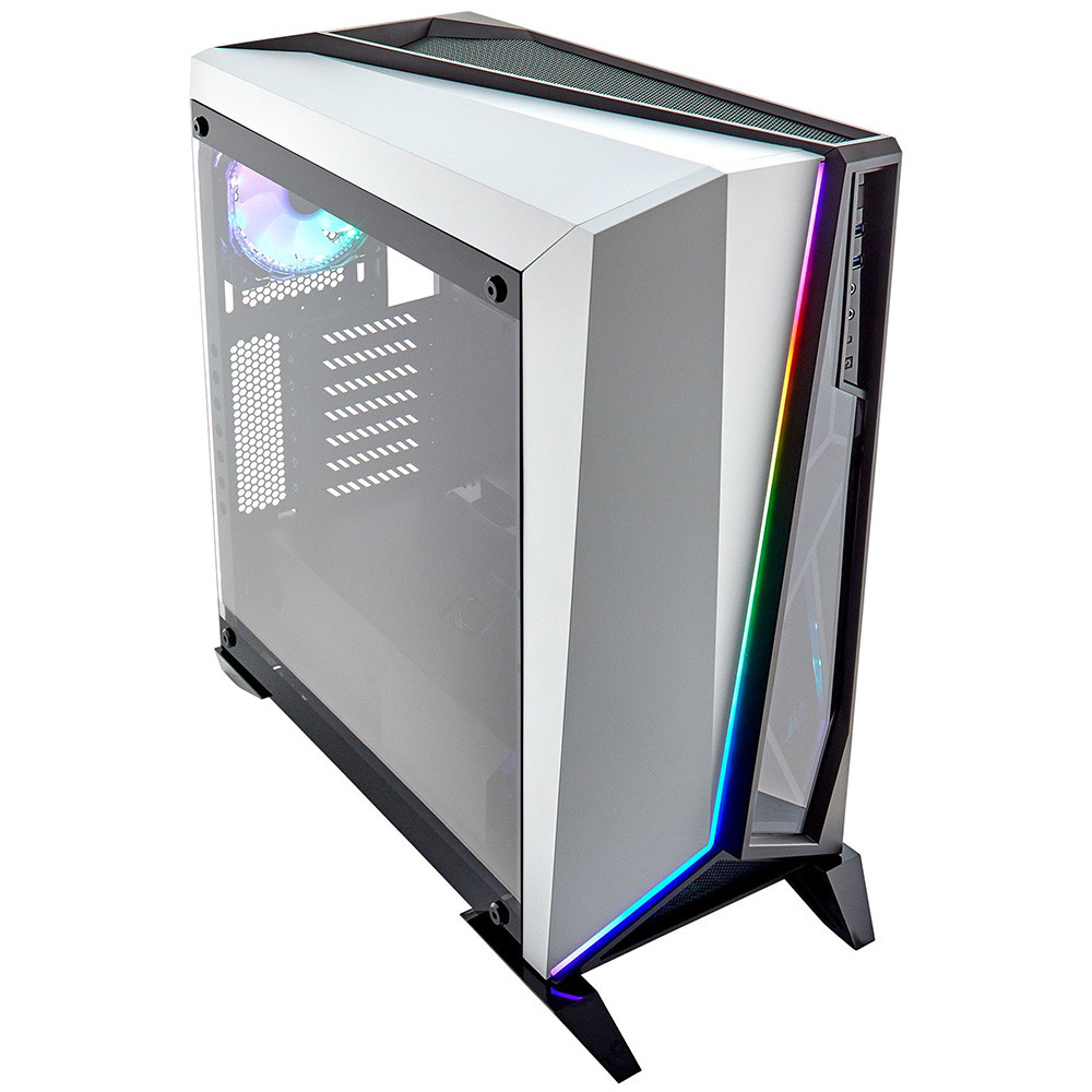 Case Corsair SPEC-Omega RGB - Tempered Glass (CC-9011141-WW) (Trắng đen)