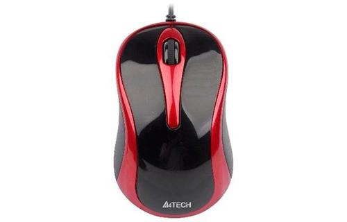 Chuột máy tính A4-N360.2 (Đỏ đen)