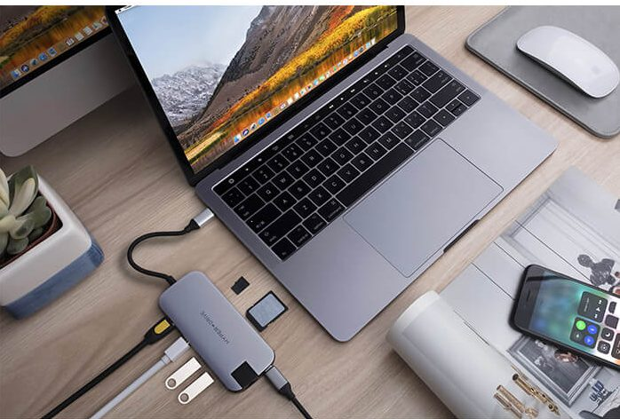 Hub Hyperdrive Slim USB-C Multi Port