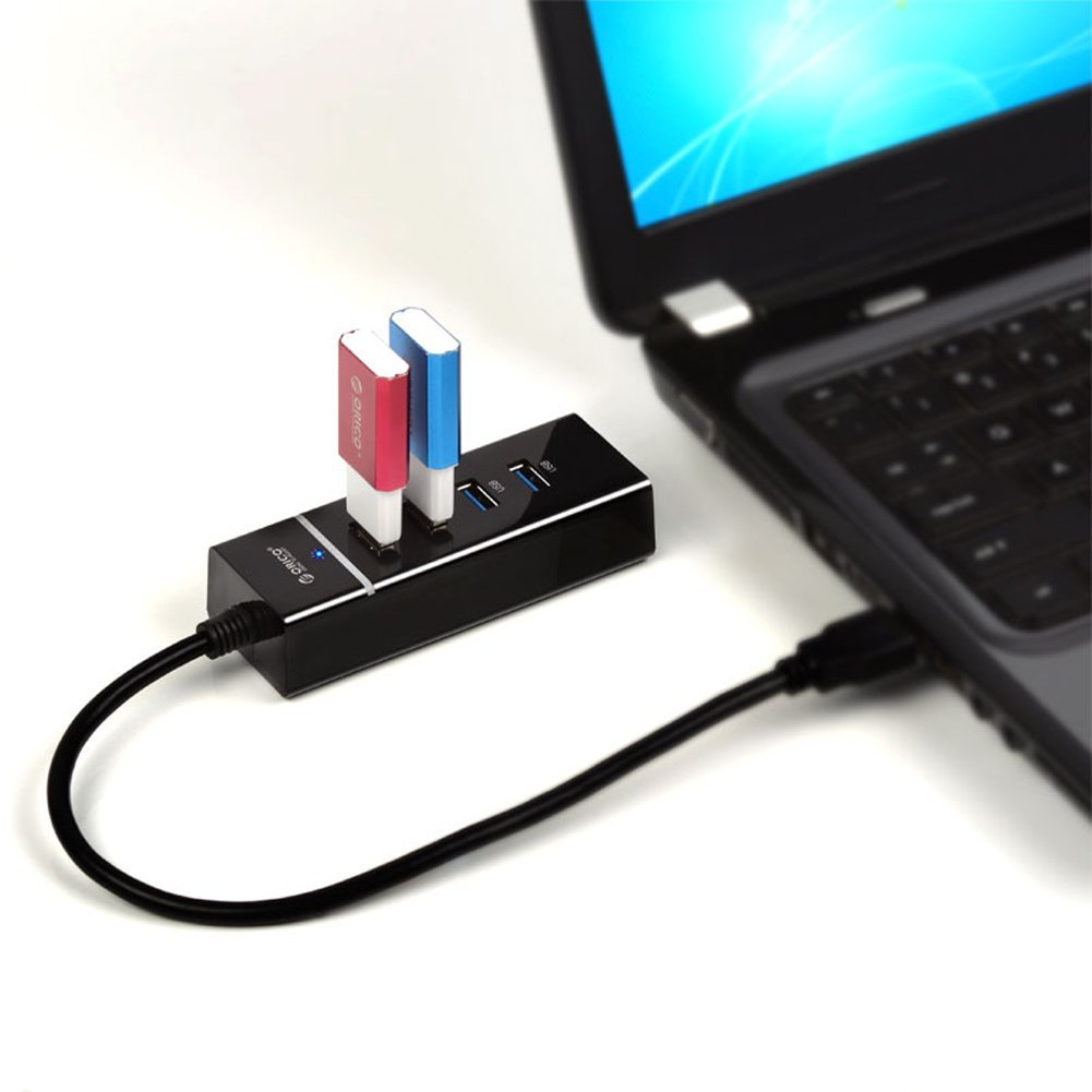 Bộ chia/ Hub USB 3.0 Orico W6PH4BK