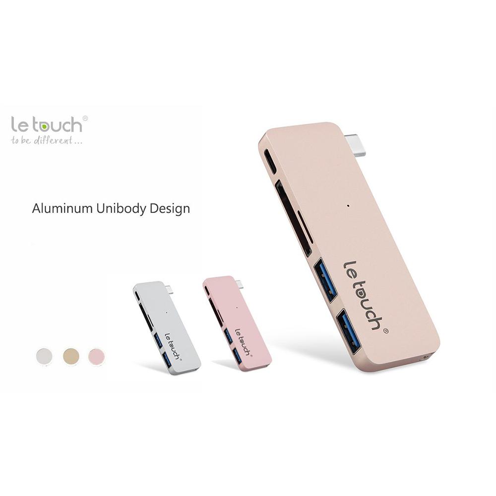 Hub USB-C Letouch combo 5in1-TT9858