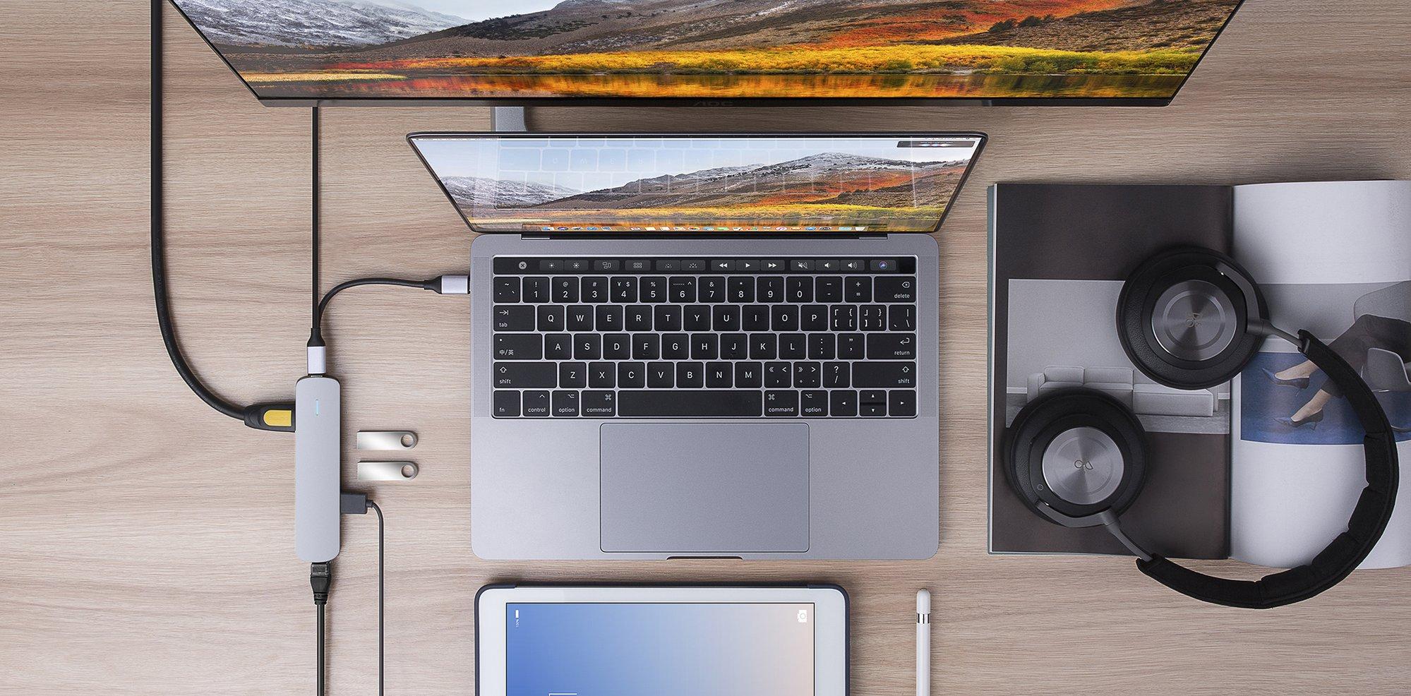 Hub HyperDrive 6-in-1 USB-C Hub Bạc