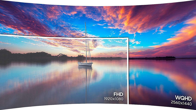 Màn hình cong LCD Samsung 27