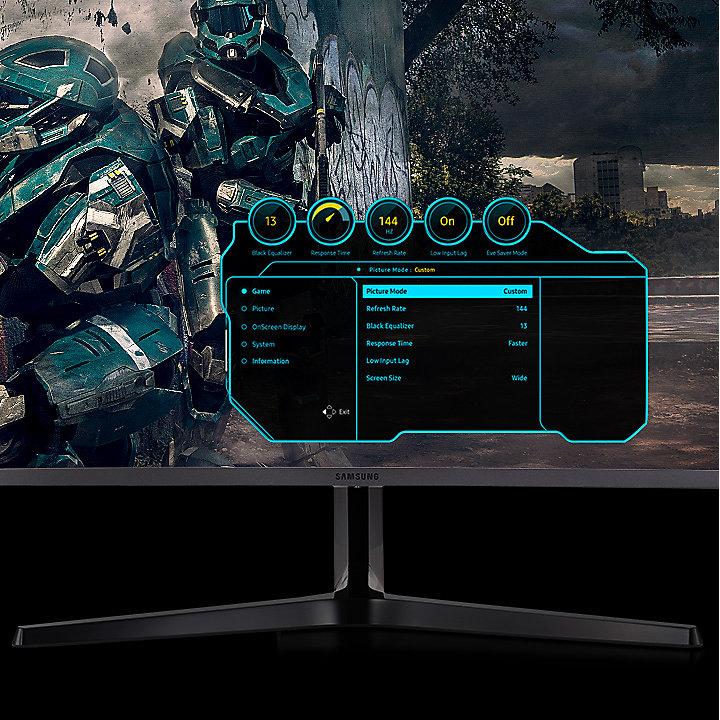 """Màn hình cong LCD Samsung 32"""" LC32JG50QQEXXV"""