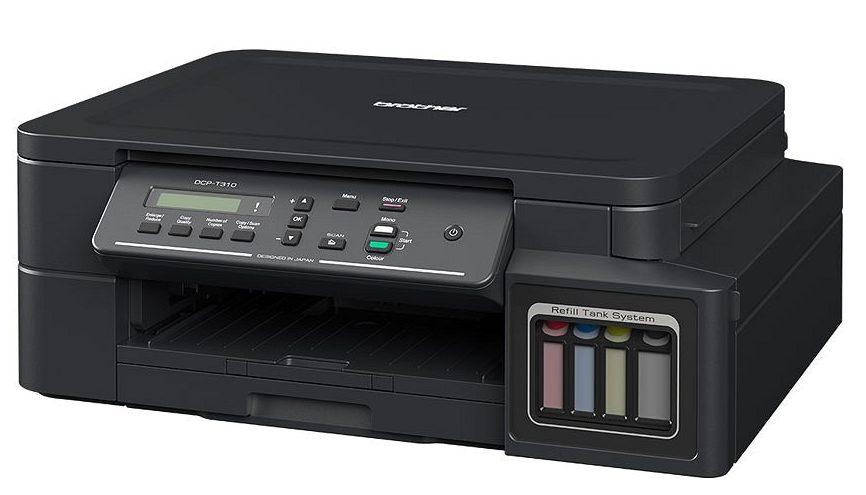 Máy in phun màu BROTHER DCP-T310 trang bị kết nối dễ dàng với các thiết bị