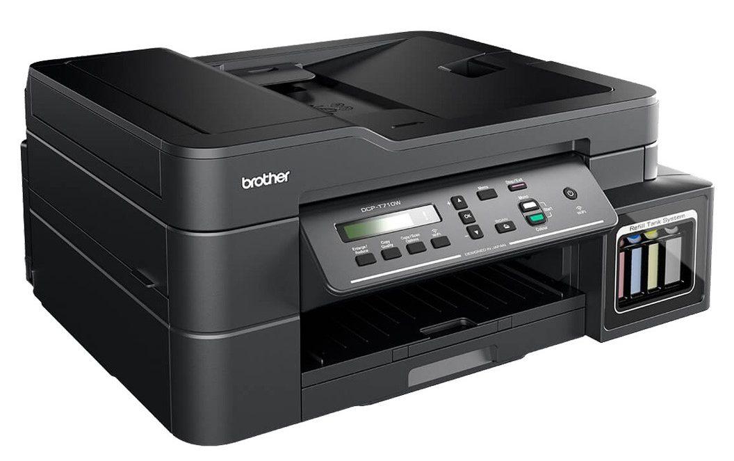 Máy in phun màu BROTHER DCP-T710W thích hợp với mọi công việc văn phòng