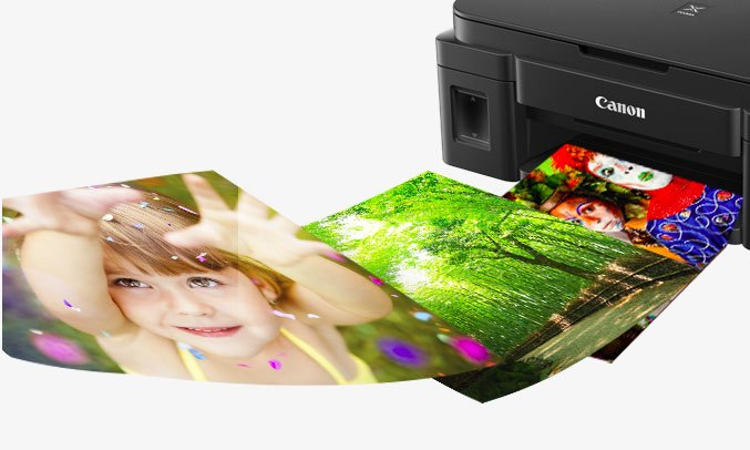 Máy in phun màu CANON G1010 với chức năng in ảnh hiện đại