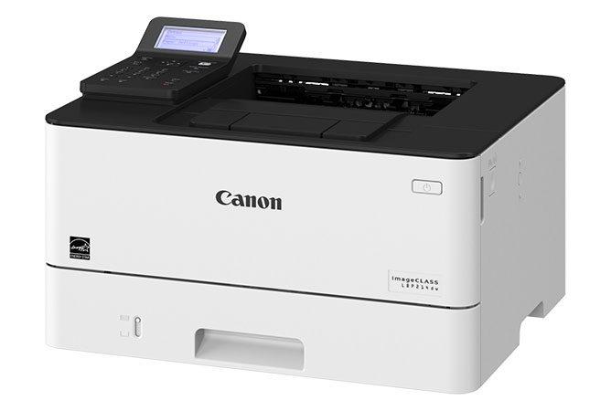 Máy in laser trắng đen CANON LBP214DW giúp hiệu quả công việc được tăng cao