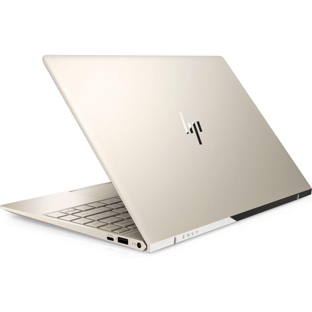 Máy tính xách tay: Laptop HP Envy 13-ad159TU (3MR74PA) (Vàng đồng) mặt sau
