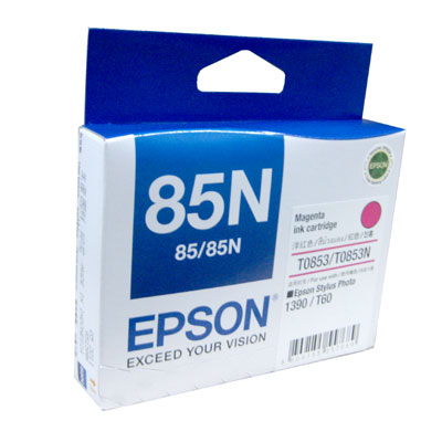 Mực in Epson màu hồng T122300 1