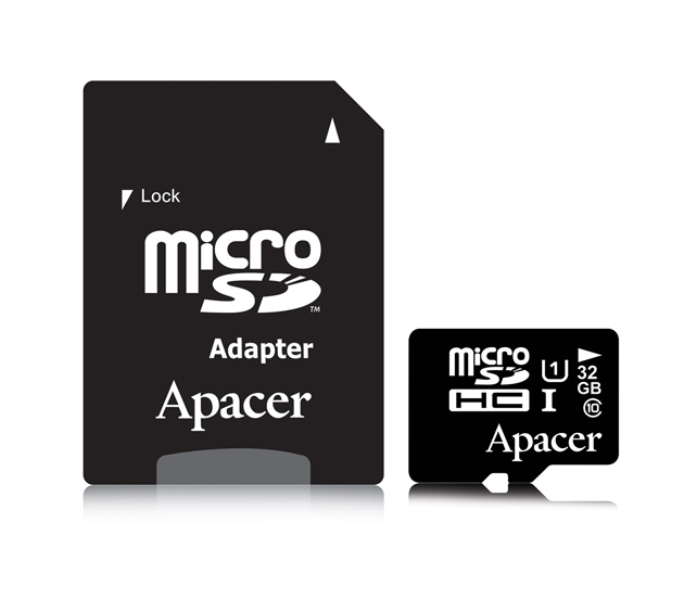 Micro SD UHS1 32GB Apacer (class10)