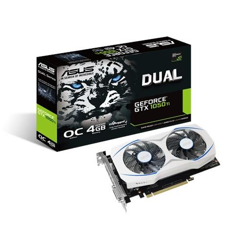 Card màn hình Asus Dual 4GB-GTX1050Ti-04G