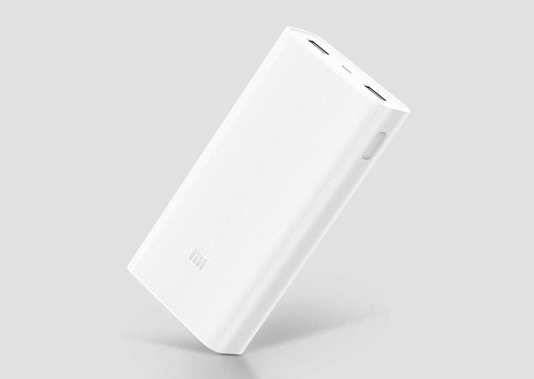 Pin sạc dự phòng Xiaomi Mi 2c 20.000mAh (Trắng)