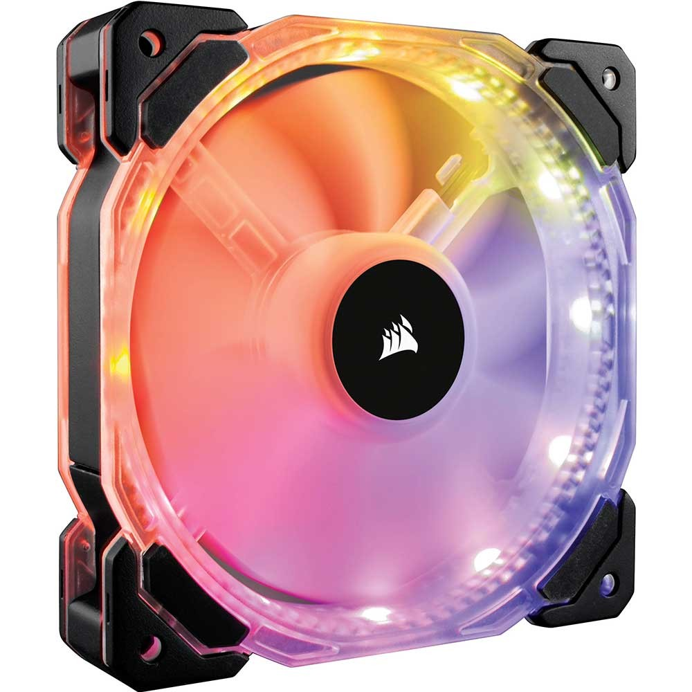 Quạt case Corsair FAN HD 140 RGB LED - 1 FAN (CO-9050068-WW)