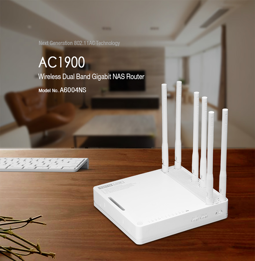 Router ToToLink A6004NS