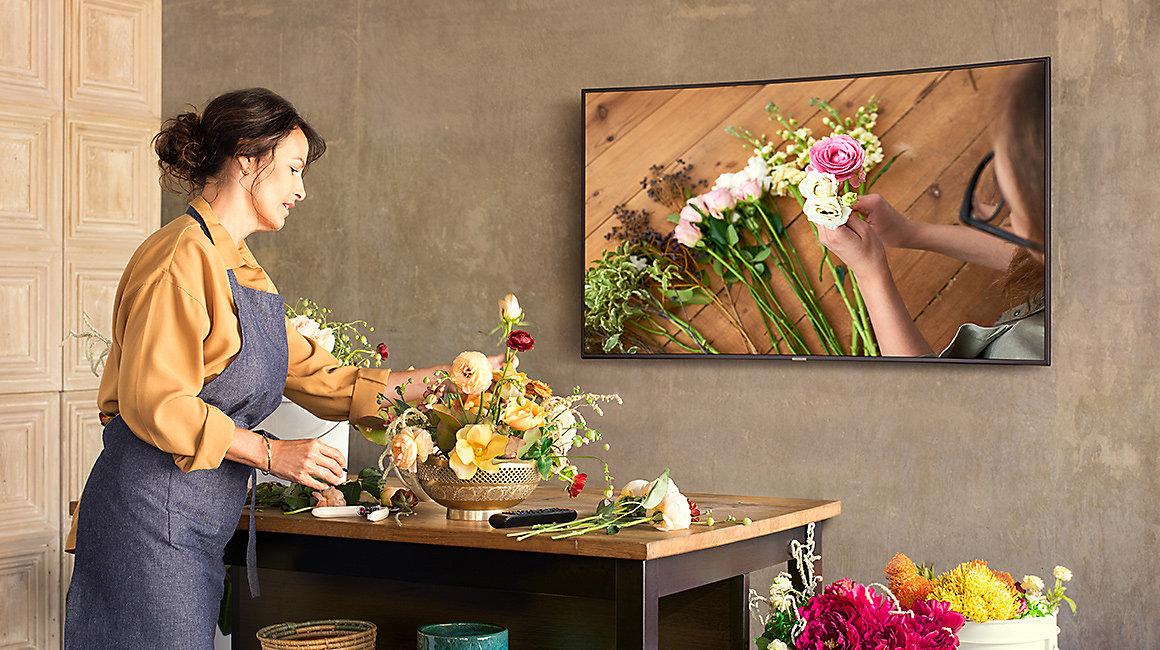 Smart Tivi Samsung 4K 49 inch UA49NU7300 phù hợp với mọi không gian gia đình