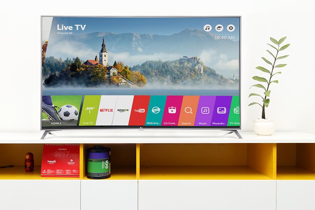Smart Tivi LG 4K 43 inch 43UJ750T với các ứng dụng đa dạng phong phú