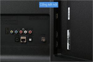 Smart Tivi LG 55 inch 55LJ550T chân1 cổng kết nối 2