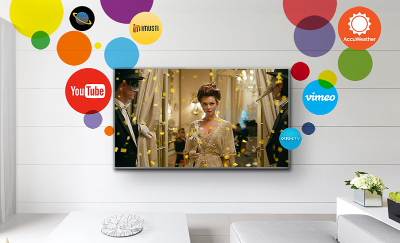 Smart Tivi Panasonic 4K 55 inch TH-55FX600V đa dạng ứng dụng