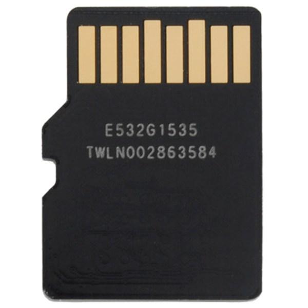 Thẻ nhớ Micro UHS1 64GB Apacer (Class 10) mặt sau