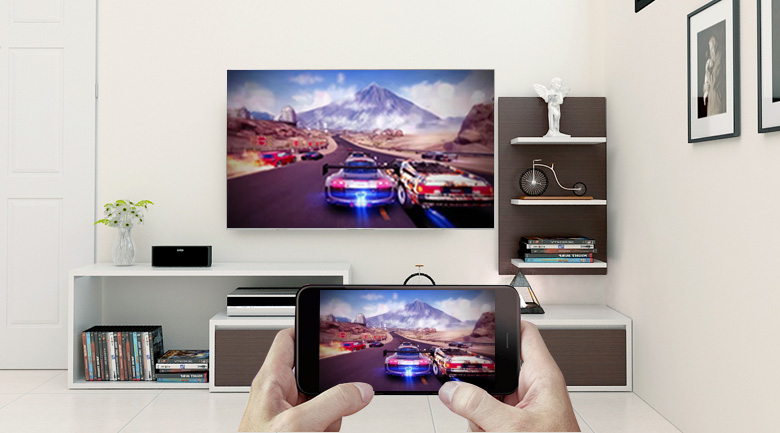 Tivi LED Sony KD-43X8500F:S đ thoại