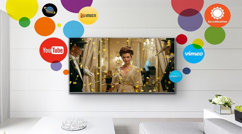 Tivi Panasonic 55 Inch TH-55FX700V my home screen